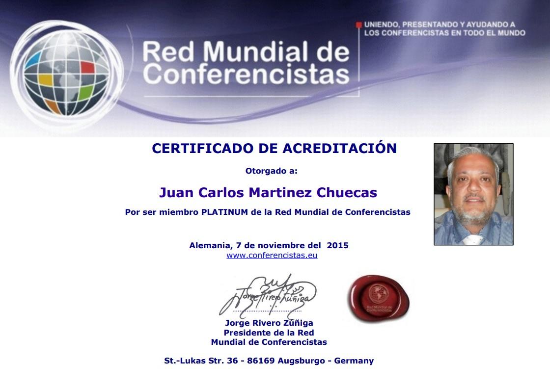 Juan Carlos martinez Chuecas
