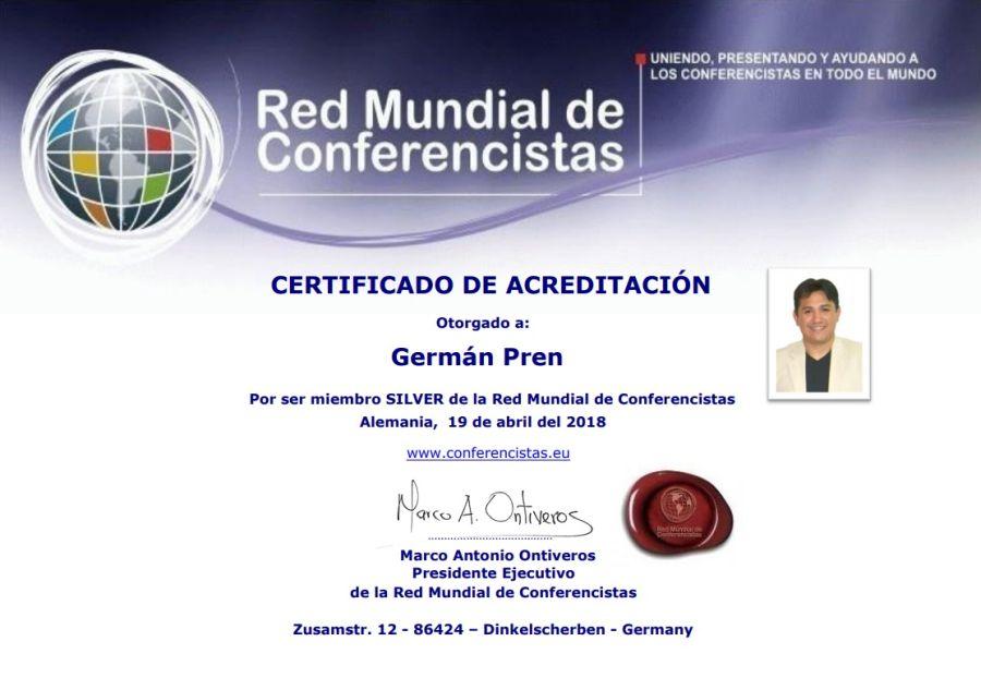 Germán Pren Conferencista